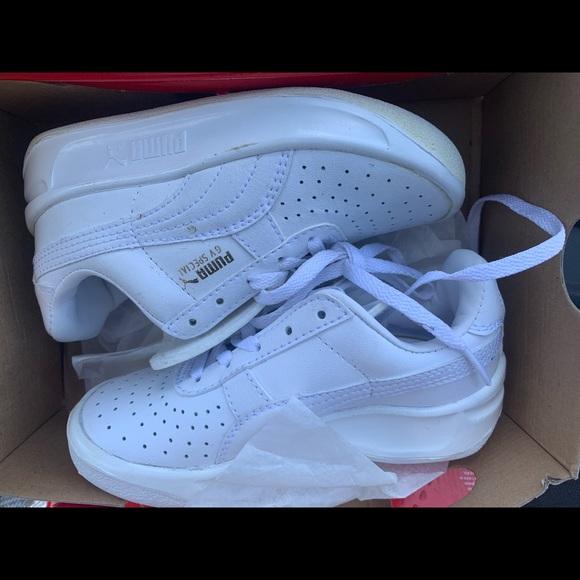white pumas for kids